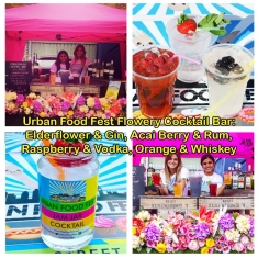 Floral_Cocktail_Urban_Food_Fest_Bar