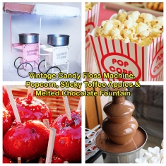 Vintage Candy Floss & Popcorn