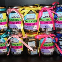 Urban Food Fest Chocolate jar