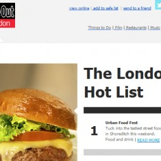 Time Out Hot List