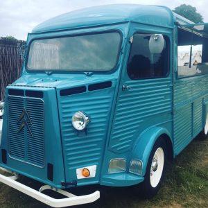 Vintage street food truck hire