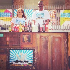 Our handmade vintage bars at our Shoreditch, London street food market