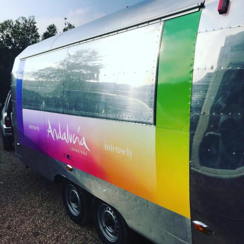 Branded Airstream