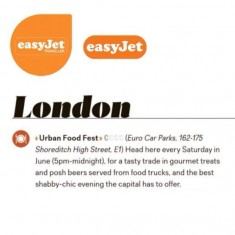 Easy Jet in Flight Magazine