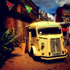 vintage street food party van for hire