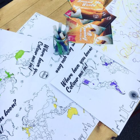 Intrepid Travel Colouring Maps