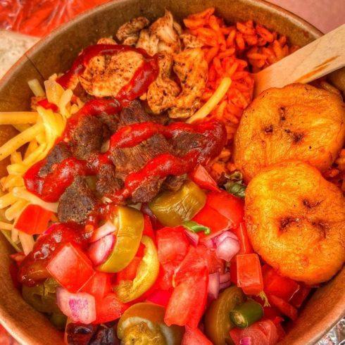 Spanish Paella Street Food