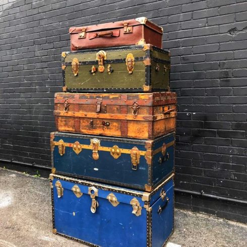 Hire Vintage Boxes And Furniture
