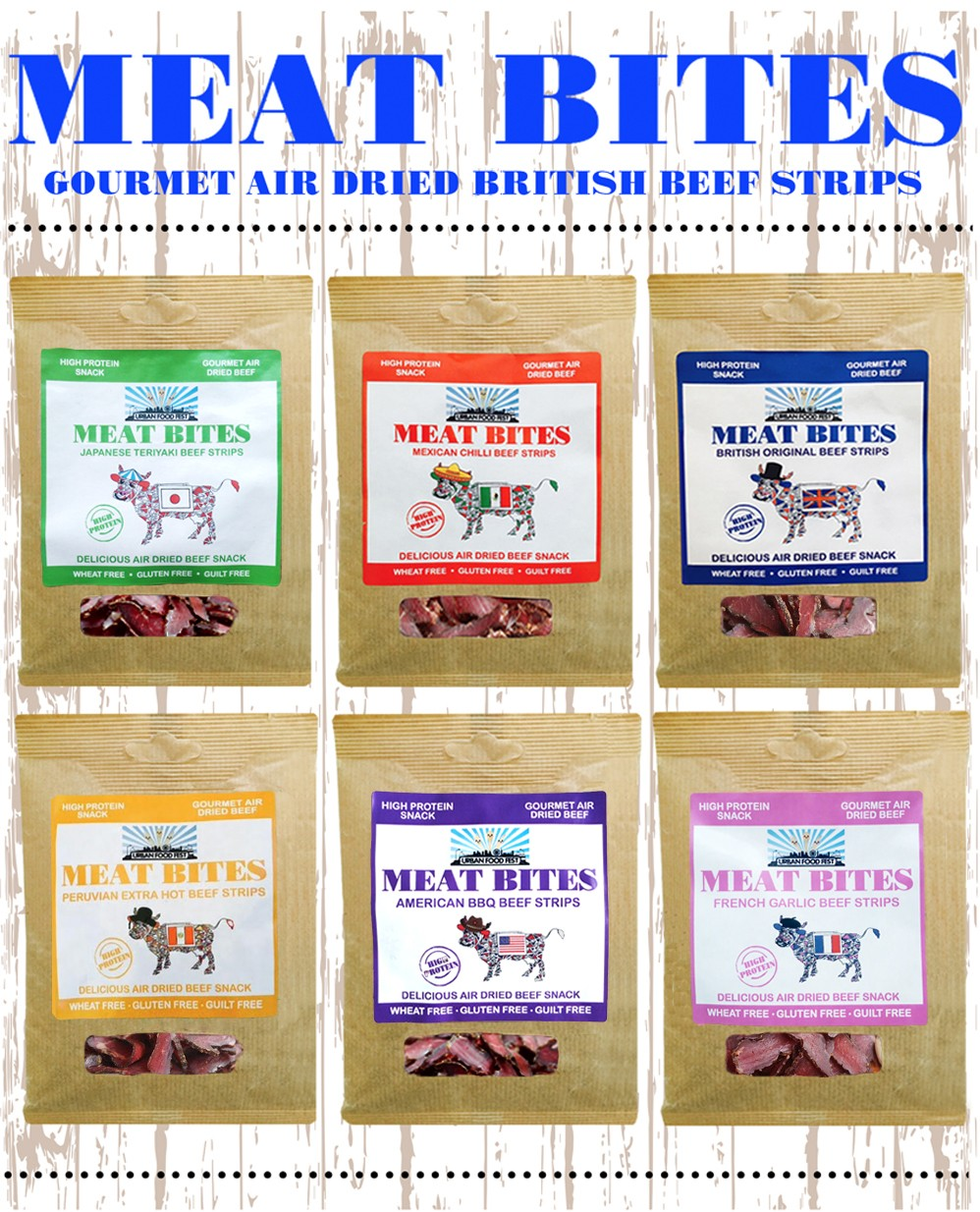 Meat Bites healthy beef strips