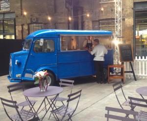 vintage street food truck wedding