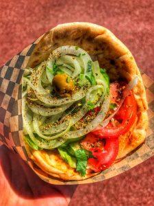 Say yes to vegan or vegetarian street food alternatives!